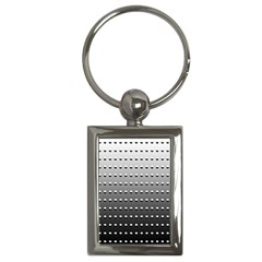 Gradient Oval Pattern Key Chains (Rectangle)