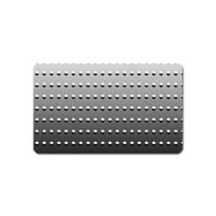 Gradient Oval Pattern Magnet (Name Card)