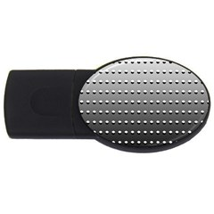 Gradient Oval Pattern USB Flash Drive Oval (1 GB)