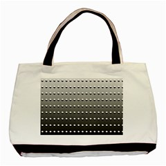 Gradient Oval Pattern Basic Tote Bag (two Sides)
