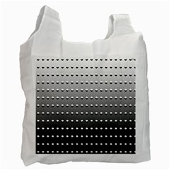 Gradient Oval Pattern Recycle Bag (one Side)