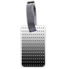 Gradient Oval Pattern Luggage Tags (One Side)