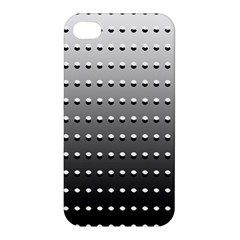 Gradient Oval Pattern Apple iPhone 4/4S Hardshell Case