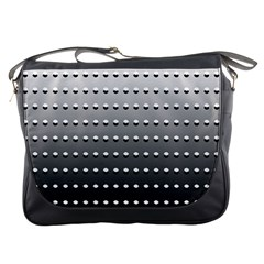 Gradient Oval Pattern Messenger Bags
