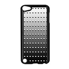 Gradient Oval Pattern Apple iPod Touch 5 Case (Black)