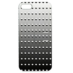 Gradient Oval Pattern Apple iPhone 5 Hardshell Case with Stand