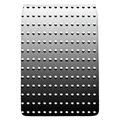 Gradient Oval Pattern Flap Covers (L)