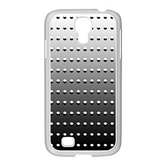 Gradient Oval Pattern Samsung Galaxy S4 I9500/ I9505 Case (white)