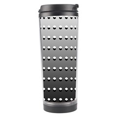 Gradient Oval Pattern Travel Tumbler