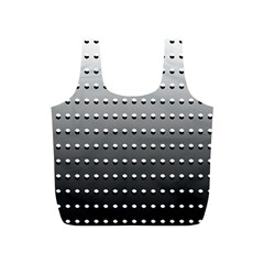 Gradient Oval Pattern Full Print Recycle Bags (S)