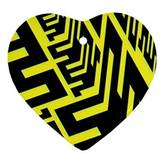 Pattern Abstract Ornament (Heart)