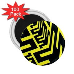 Pattern Abstract 2.25  Magnets (100 pack)