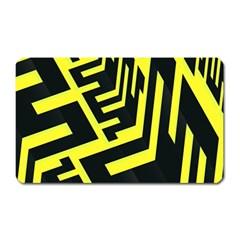 Pattern Abstract Magnet (rectangular)