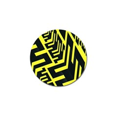 Pattern Abstract Golf Ball Marker
