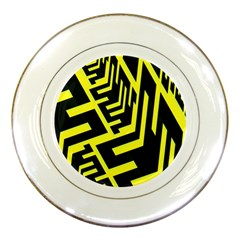 Pattern Abstract Porcelain Plates