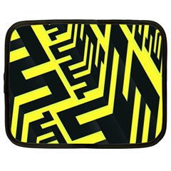 Pattern Abstract Netbook Case (xl)