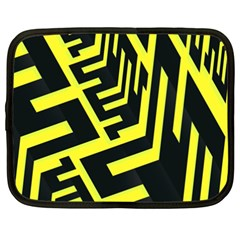 Pattern Abstract Netbook Case (xxl)