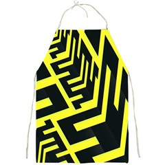 Pattern Abstract Full Print Aprons