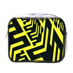 Pattern Abstract Mini Toiletries Bags