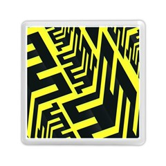 Pattern Abstract Memory Card Reader (square)
