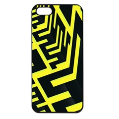 Pattern Abstract Apple iPhone 5 Seamless Case (Black)