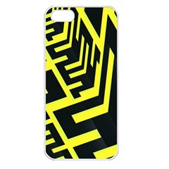 Pattern Abstract Apple Iphone 5 Seamless Case (white)