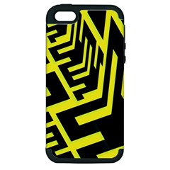 Pattern Abstract Apple iPhone 5 Hardshell Case (PC+Silicone)