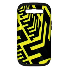 Pattern Abstract Samsung Galaxy S III Hardshell Case (PC+Silicone)