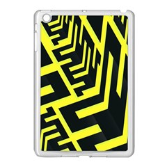 Pattern Abstract Apple iPad Mini Case (White)