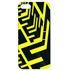 Pattern Abstract Apple Iphone 5 Hardshell Case With Stand