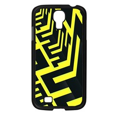 Pattern Abstract Samsung Galaxy S4 I9500/ I9505 Case (Black)