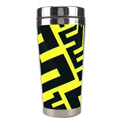 Pattern Abstract Stainless Steel Travel Tumblers