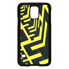 Pattern Abstract Samsung Galaxy S5 Case (Black)