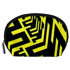 Pattern Abstract Accessory Pouches (Large)