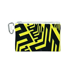 Pattern Abstract Canvas Cosmetic Bag (s)