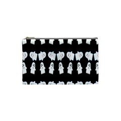 Cute Ghost Pattern Cosmetic Bag (small)