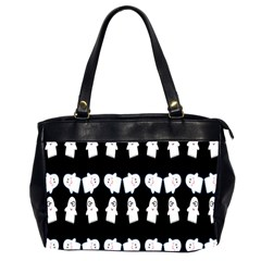 Cute Ghost Pattern Office Handbags (2 Sides)