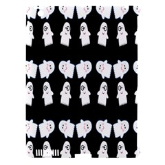 Cute Ghost Pattern Apple iPad 3/4 Hardshell Case (Compatible with Smart Cover)