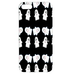 Cute Ghost Pattern Apple iPhone 5 Hardshell Case with Stand