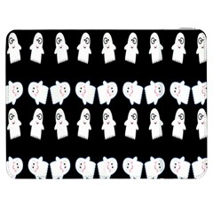 Cute Ghost Pattern Samsung Galaxy Tab 7  P1000 Flip Case