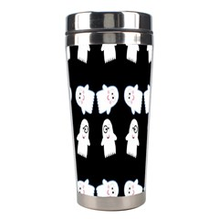 Cute Ghost Pattern Stainless Steel Travel Tumblers