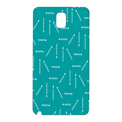 Digital Art Minimalism Abstract Candles Blue Background Fire Samsung Galaxy Note 3 N9005 Hardshell Back Case