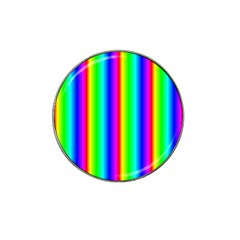 Rainbow Gradient Hat Clip Ball Marker (4 pack)