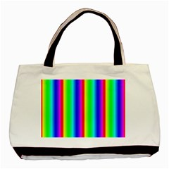 Rainbow Gradient Basic Tote Bag