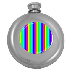 Rainbow Gradient Round Hip Flask (5 oz)