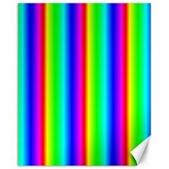 Rainbow Gradient Canvas 16  X 20