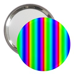 Rainbow Gradient 3  Handbag Mirrors
