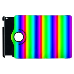 Rainbow Gradient Apple iPad 2 Flip 360 Case