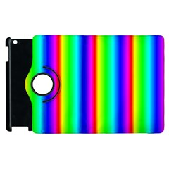 Rainbow Gradient Apple Ipad 3/4 Flip 360 Case