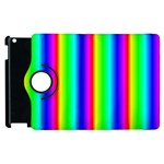 Rainbow Gradient Apple iPad 3/4 Flip 360 Case Front